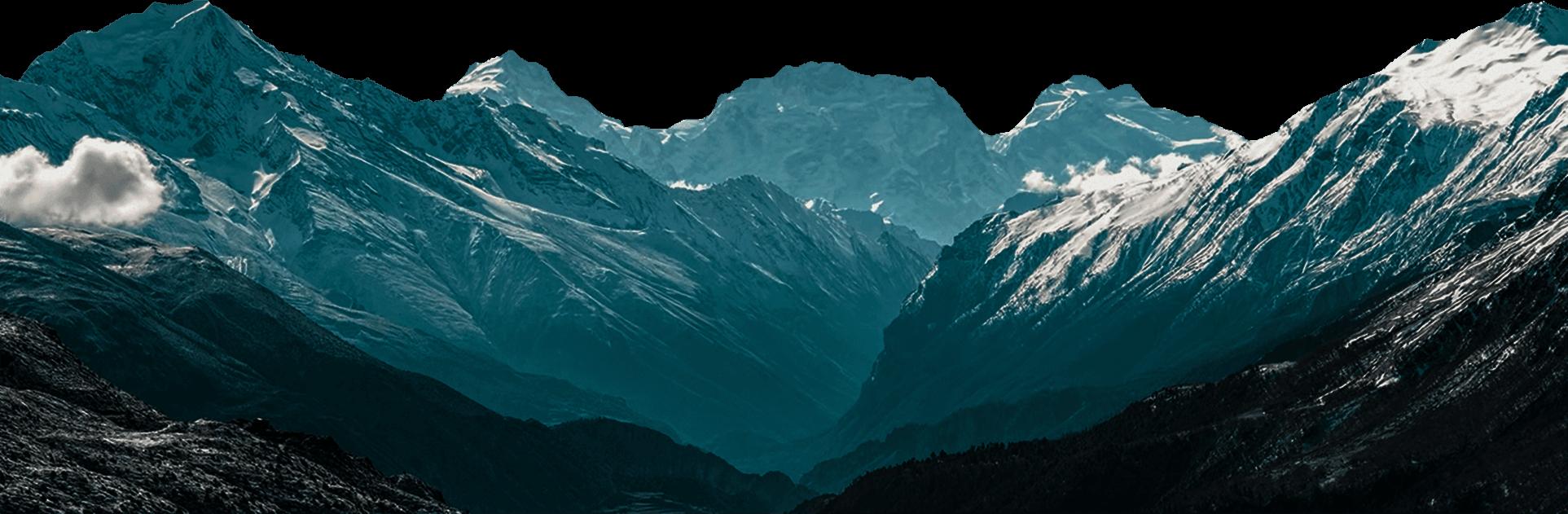 горы прибыли